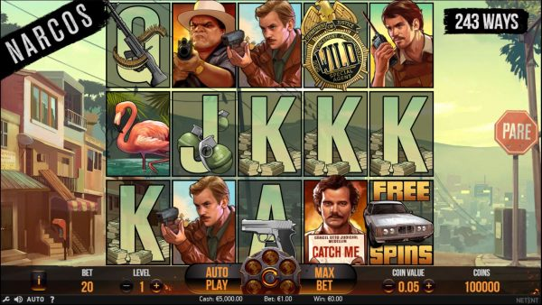 Narcos - slot machine online