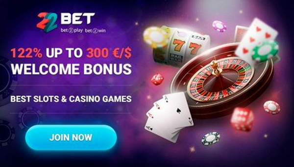 22bet - slot machine e casinò online