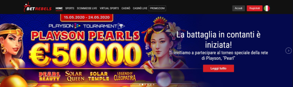 torneo slots, betrebels, perl playson